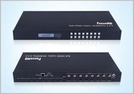 工业级 HDMI2.0 4K@60Hz矩阵 MX11plus